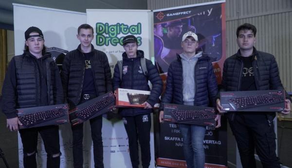 Vettergymnasiet esport vann hela turneringen Corehack Rise 2019 i Counter-Strike